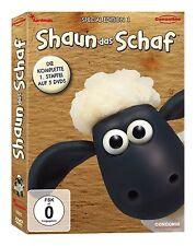 5 DVDs * SHAUN DAS SCHAF - STAFFEL 1 - SPECIAL EDITION - Neuauflage # NEU OVP $