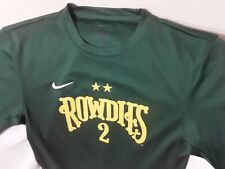 Tampa Bay Rowdies Green Short Sleeve Soccer Jersey Nike Dri Fit Small #2 MSL