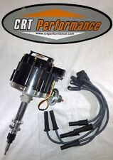 AMC JEEP 258 4.2L 6 CYL HEI DISTRIBUTOR + 8MM PLUG WIRES CRT PERFORMANCE QUALITY