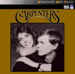 Pro MIDI File Disk - The Carpenters