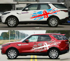 2 PCS British Flag Car Sticker For Land Rover Discovery Vinyl Union Jack Decals