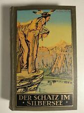 Karl May Der Schatz im Silbersee Radebeul Fehsenfeld  Band 36 1937   N224