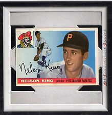 1955 Topps NELSON KING #112 EXMT+ *fabulous baseball card for your set* m8