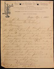 m Original 1888 The Seibert Cylinder Oil Cup Co. Letterhead