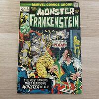 Monster of Frankenstein #1 Marvel Comics Mike Ploog Art 1972