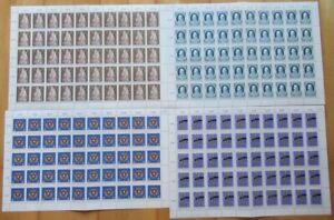 Österreich Sondermarken-Bogen 4 Stück (IZ5358), alle Bogen postfrisch**