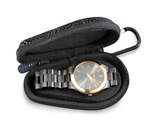 Croc Skin Watch Case Fits Metal Band Watches For Men and Women Up to Size 56MM