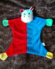 DOUDOU PLAT VACHE BEST PRICE LONDON ROUGE BLEU TTBE