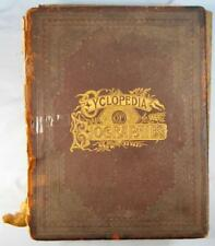 Encyclopedia Of Biographies Chester County PA Pennsylvania Antique Book 1893 (O)