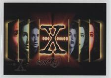 1995 Topps The X Files Season 1 #65 Poster Graphic Non-Sports Card 6b1