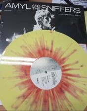 Amyl And The Sniffers - Big Attraction & Giddy Up -  Ltd Ed Yellow Ltd Vinyl LP