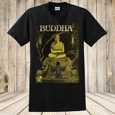 New Buddha T-shirt Antique 1919 Sheet Music Cover Spirituality Buddhism Art