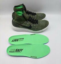 Nike Lunarepic Flyknit Running Shoes Rough Green 818676-303 Men's Size 10.5