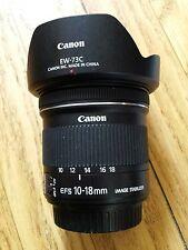 Canon efs ef-s 10-18mm Weitwinkel Objektiv ww ultra Weitwinkel uww