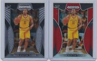 2019-20 PANINI PRIZM DRAFT-TALEN HORTON-TUCKER (2) CARD RC LOT- RED PRIZM + BASE