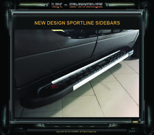 VAUXHALL MOKKA SIDE BARS STEPS RUNNING BOARDS 2012+Onwards PAIR, NEW DESIGN