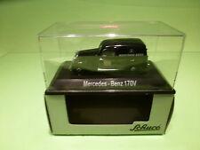 SCHUCO SC06 MERCEDES 170V TRUCK - KOSTENWAGEN 100 JAHRE MB - 1:43 - MINT IN BOX