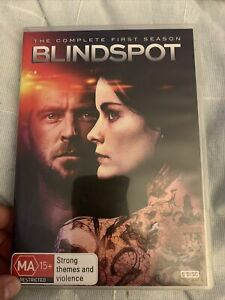 Blindspot: Season 1 DVD (5 Disc Set) VG Region 4 - Jaimie Alexander - Aus Post