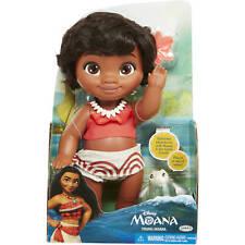 "Disney Moana 13"" Young Moana Bath Doll with Turtle Friends Bathtime Adventures"