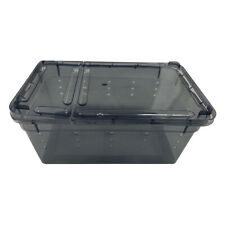 Reptile Water Feeding Box Turtle Spiders Hatching Cage For Terrarium Spiders
