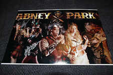 ABNEY PARK signed 8x12 inch autograph Photo InPerson in 2013 in Germany LOOK
