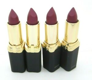 L'oreal Lipstick Colour Riche Special Collection Jennifer's Pink #705 Lot of 4