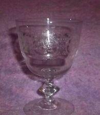 """Vintage Clear Glass Winn Glass/Tumbler Glass 4 1/4"""" TALL"""
