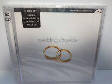 WEDDING CLASSICS ~ CLASSIC WEDDING SONGS ~ 2-CD ~ 2004 ~ NEW SEALED CD