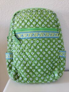 Vera Bradley Backpack Retired GREEN APPLE Small Backpack Retired ~ Excellent