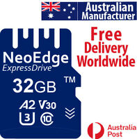 NeoEdge 32GB memory card type TF speed class A2 U3 V30 UHS-I C10 up to 100Mbs