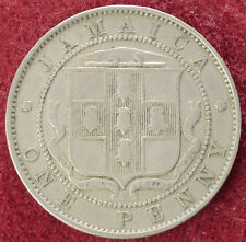 JAMAICA PENNY 1928 (d2208)