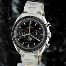 bnib OMEGA Speedmaster Moonwatch Co-Ax MOONPHASE Chronograph 304.30.44.52.01.001