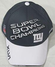 NWOT NFL REEBOK NEW YORK GIANTS SUPER BOWL 46 CHAMPIONSHIP LOCKER ROOM HATS