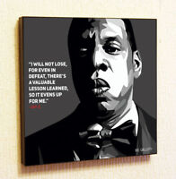 Jay-Z Hip Hop Painting Decor Print Wall Art Poster Pop Canvas Quotes Decals