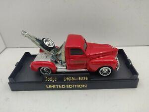 "Solido 1940 Dodge Flat Bed Truck  4 5/8"" Long France N Mint W/Display Box"