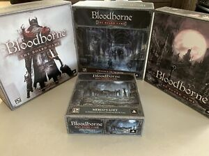 BLOODBORNE Blood Moon Pledge Board Game Kickstarter Exclusive W/ Painted Minis