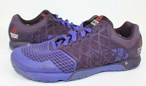 Reebok Crossfit Nano 4.0 CF74 M43441 Purple Women's Size 7 US 4.5 UK 37.5 EUR