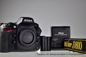 NIKON D800 36.3MP Digital Camera Body Excellent-