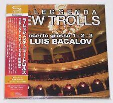 LA LEGGENDA NEW TROLLS / Concerto Grosso 1.2.3 Luiz Bacalov JAPAN SHM-CD Mini LP