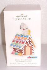 "Hallmark Keepsake 2008 ""Home Sweet Home"" Peanuts Gang Christmas Ornament Snoopy"
