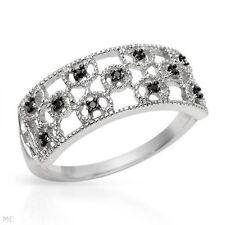 Eternity White Gold 10k Fine Rings