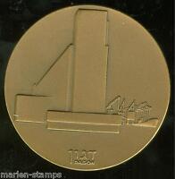 ISRAEL DAGON BATEY-MAMGUROTH LE ISRAEL HAIFA 59MM BRONZE MEDAL AS SHOWN