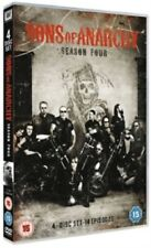 Sons of Anarchy Season 4 Series Four Fifth (Charlie Hunnam) New Region 4 DVD