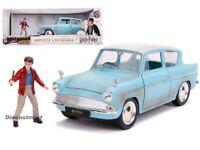 Jada 1:24 Hollywood Rides Harry Potter Figure & 1959 Ford Anglia 31127 Diecast