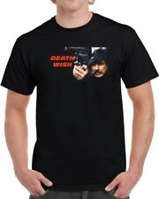 Death Wish Charles Bronson Classic Icon Movie Fan T Shirt