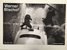 WERNER BISCHOF,NEW YORK 1953,AUTHENTIC 1990 ART PHOTO PRINT