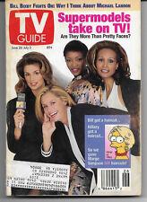 TV Guide June 26 - July 2, 1993 SUPERMODELS Cover