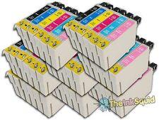 48 t0791-t0796' búho' Los Cartuchos De Tinta Compatible No Oem Con Epson Stylus 1400
