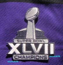 Super Bowl Superbowl 47 XLVII Champions Baltimore Ravens Patch