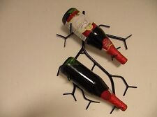 Wine Rack Shaped Like A Branch Wall Mounted Holds Two Bottles